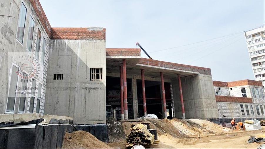 Строительство дома культуры в Горках-10 завершат в сентябре