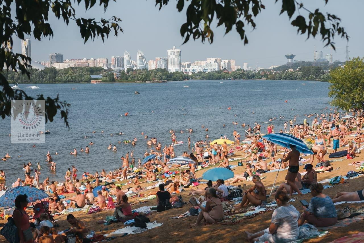 Пляж зоны отдыха «Рублево»
