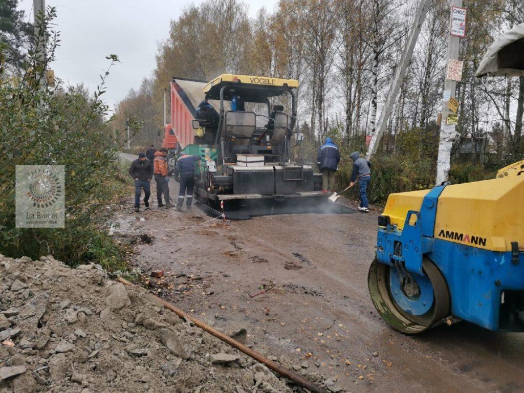 Бесхозную дорогу отремонтируют в Больших Вяземах