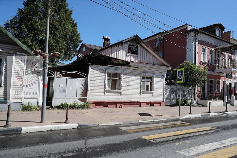 Ветхий дом №25 в Звенигороде