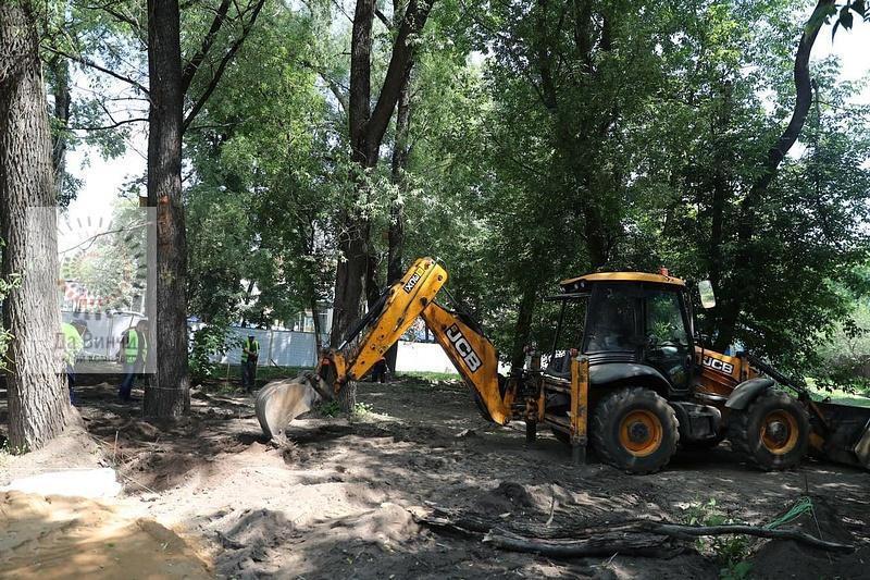 Реконструкция сквера в Звенигороде