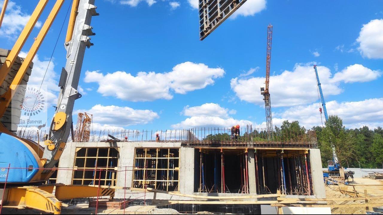 Строительная площадка гимназии Примакова
