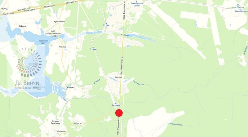 ЖД переезд автодороги Кубинка - Нарофоминск около ст. Акулово
