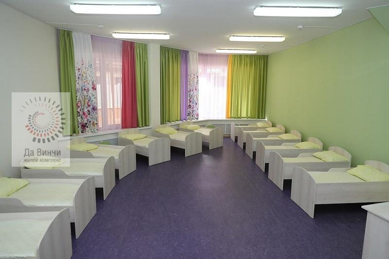 Комната для сна в детском саду