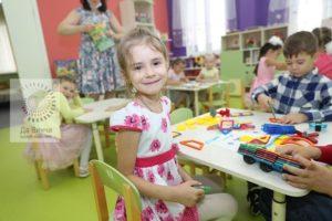 Воспитаница детского сада в Новоивановском