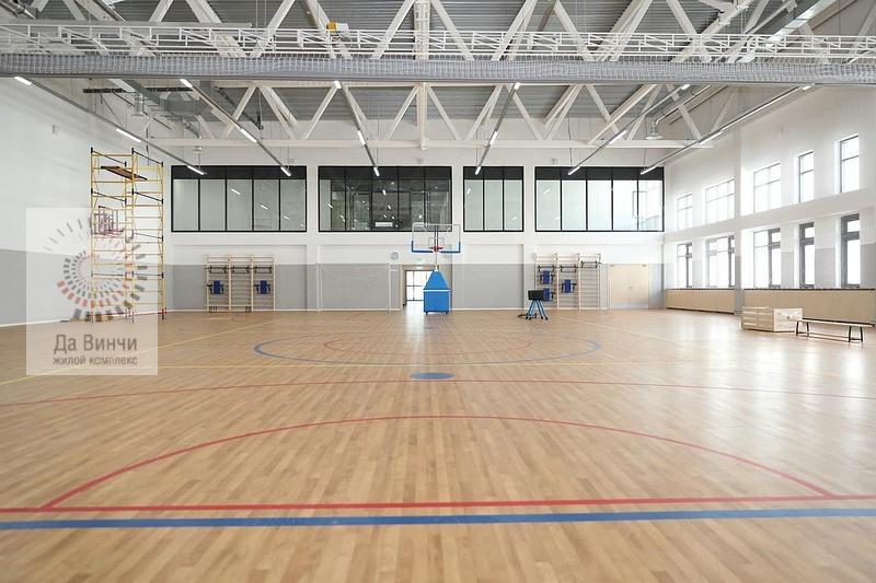 Спортивный зал новой школы в Одинцово-1