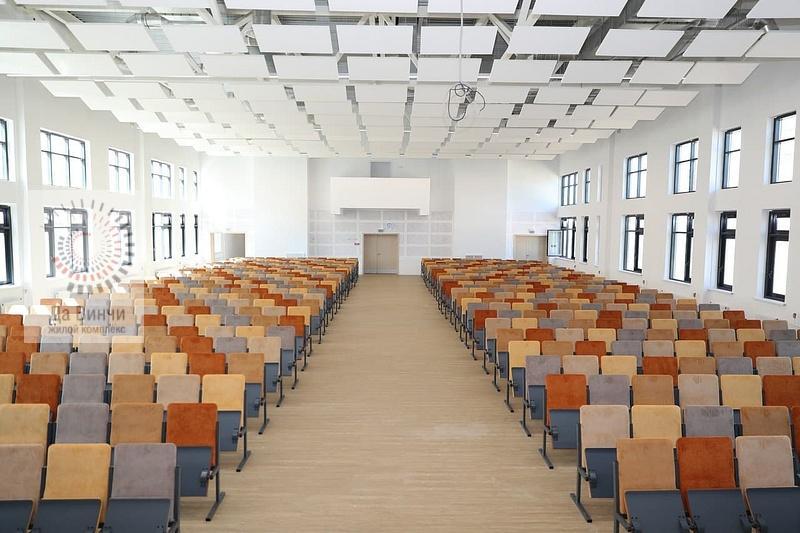 Актовый зал новой школы в Одинцово-1