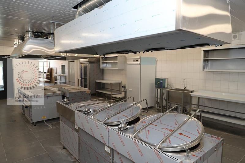 Кухня в столовой школы в Одинцово-1