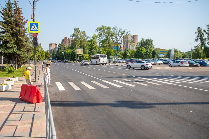Ремонт дороги Неделина Одинцово