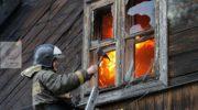 Пожар в частном доме Голицыно