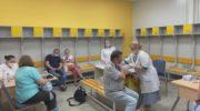 Вакцинация на центральном стадионе Одинцово
